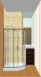 Ampir Ceramica Classic в ванной 7