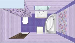 Плитка Aquarelle Gracia Ceramica в ванной 5