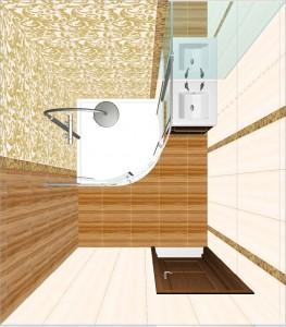Ampir Ceramica Classic в ванной 5